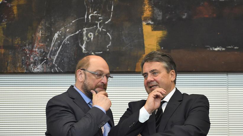 Bundestag Griechenland SPD Gabriel Schulz