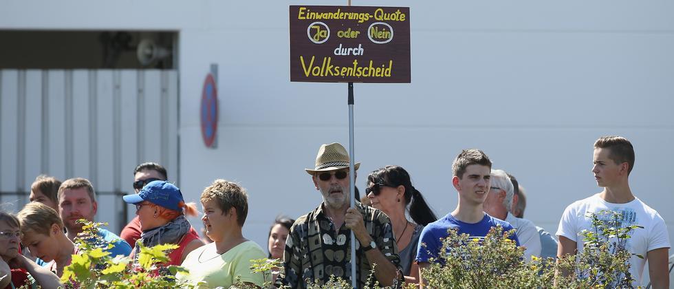 Heidenau Flüchtlinge Sachsen Säxit