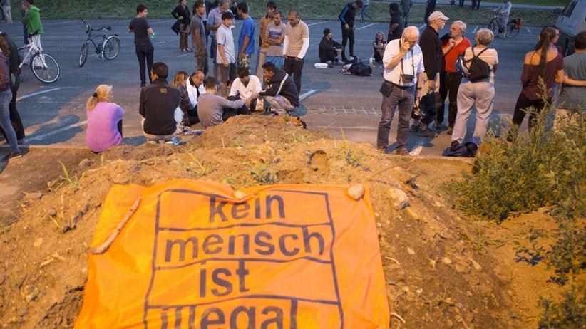 Heidenau: Bürgermeister fordert Solidarität mit Flüchtlingen