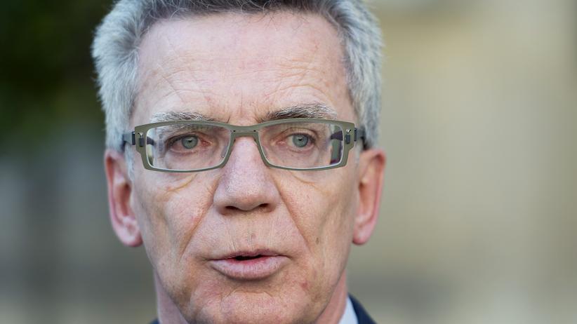 Thomas de Maizière: Bundesinnenminister Thomas de Maizière