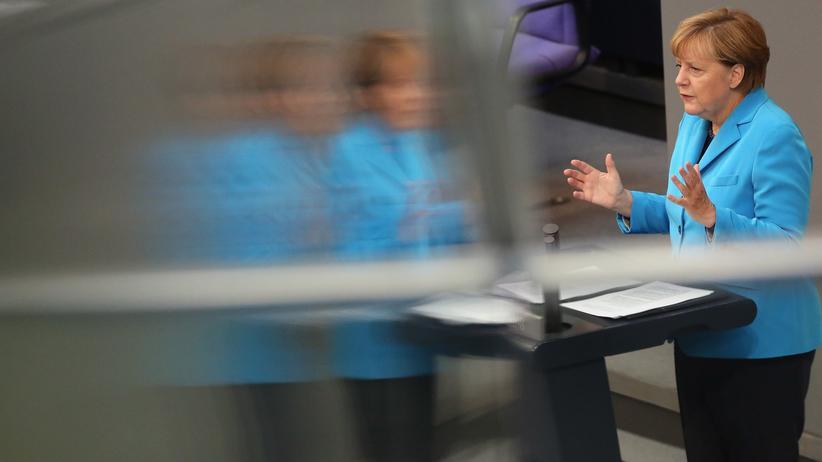Bundeskanzlerin Angela Merkel CDU CSU Flüchtlingskrise