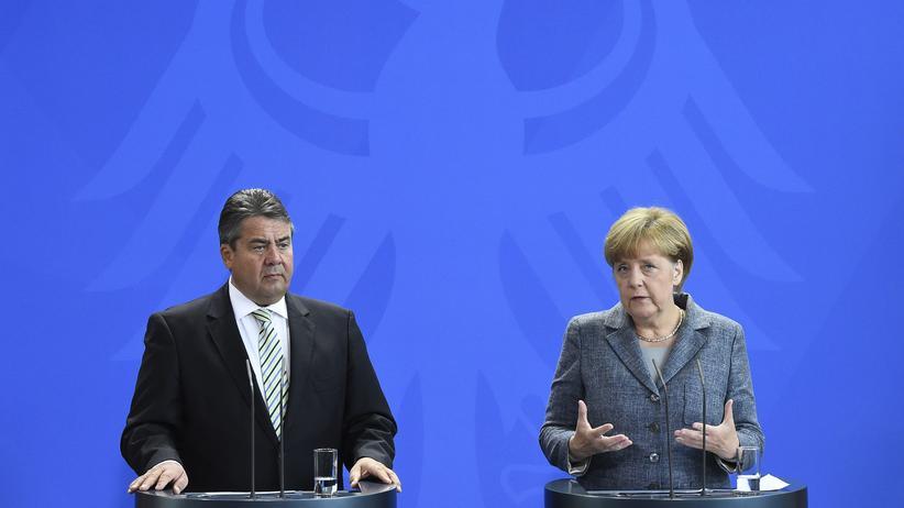 Flüchtlinge: Kanzlerin Angela Merkel und Vizekanzler Sigmar Gabriel