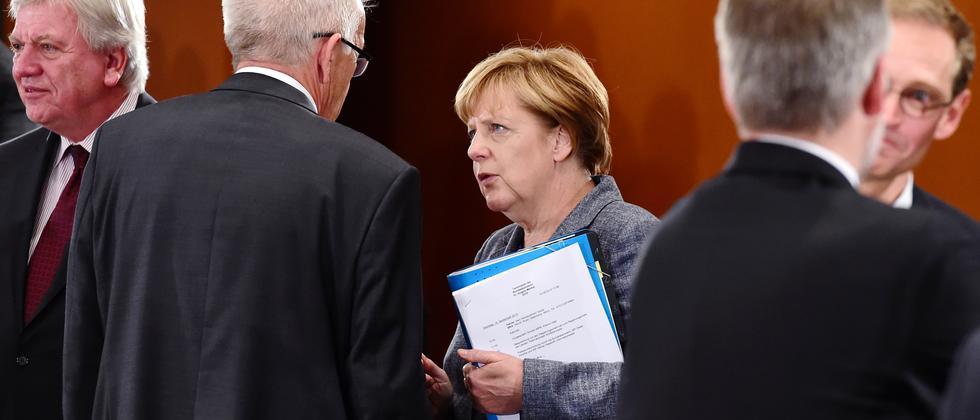 Flüchtlinge Angela Merkel Ministerpräsidenten