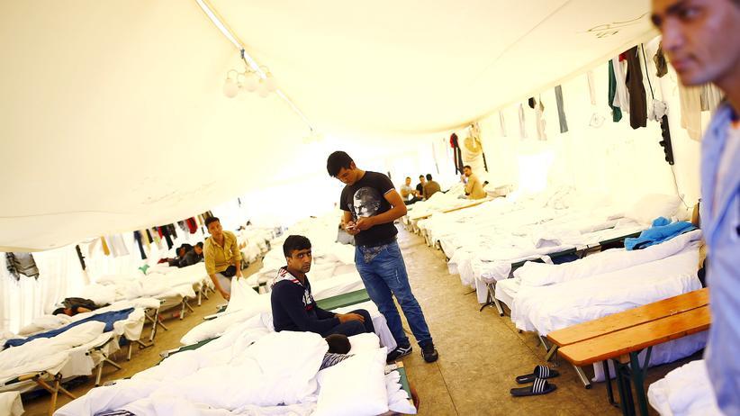 Flüchtlinge: Die Notschlafplätze werden knapp