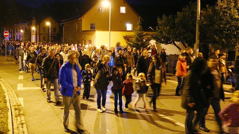 Gesellschaft, Einsiedel, Protest, Asyl, Ausländer, DDR, Flüchtling, Chemnitz