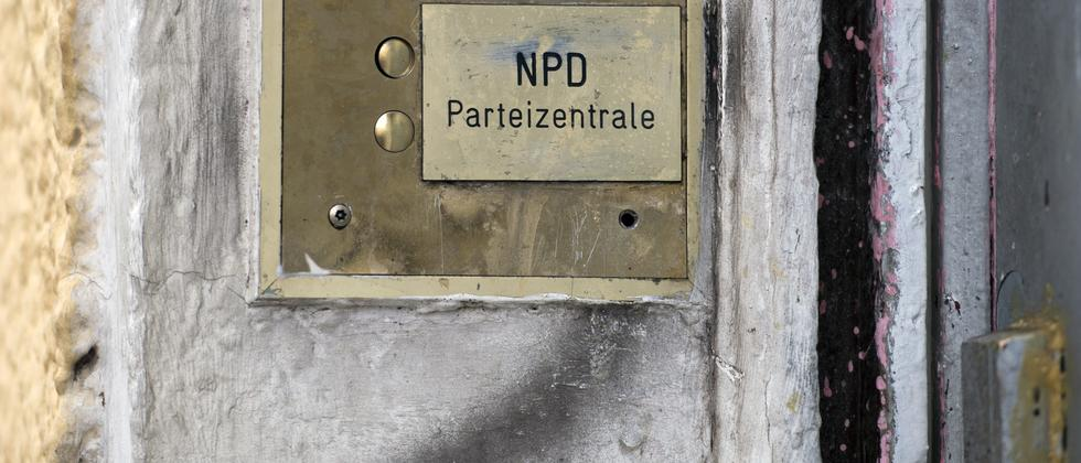 NPD Verbotsverfahren