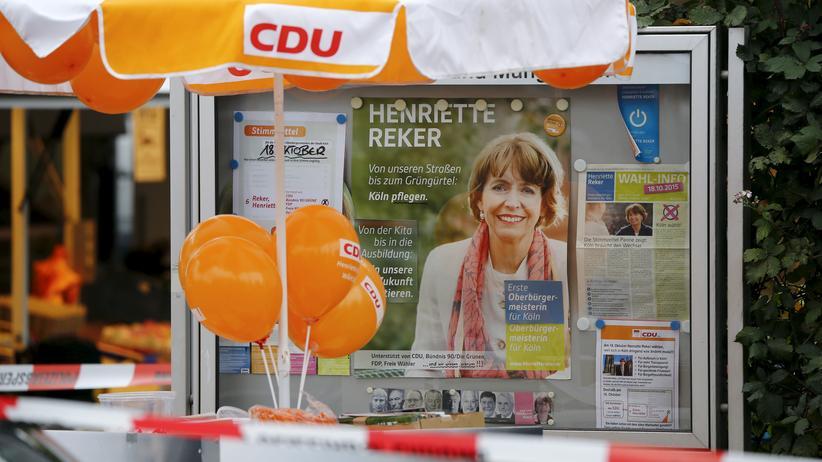 Kölner Wahl: Attentat auf OB-Kandiatin löst Sorge um Radikalisierung aus