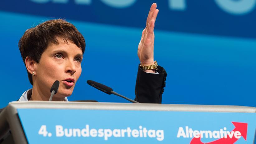 Alternative für Deutschland: Die AfD-Parteivorsitzende Frauke Petry