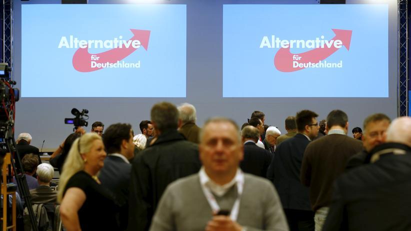 Politik, Parteitag, Alternative für Deutschland, Parteitag, Hannover, Frauke Petry, Alexander Gauland, Bundeswehreinsatz