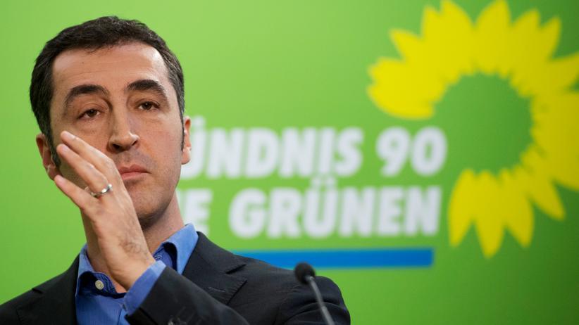 Flüchtlinge: Cem Özdemir, Bundesvorsitzender der Partei Bündnis90/Die Grünen