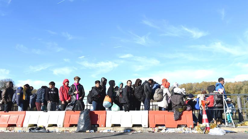 Flüchtlinge Grenze