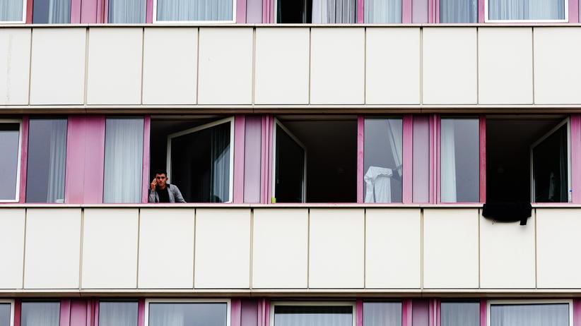 Sachsen-Anhalt: Asylbewerber in einem Hotel in Halle