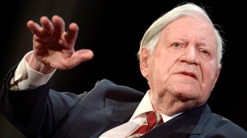 Helmut Schmidt: Helmut Schmidt in 2014