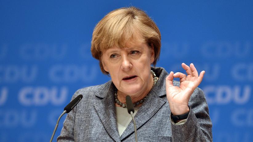 Bundeskanzlerin Angela Merkel CDU Flüchtlinge Balkan