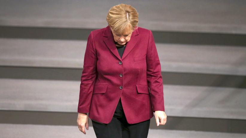 Angela Merkel: Bundeskanzlerin Angela Merkel (CDU)
