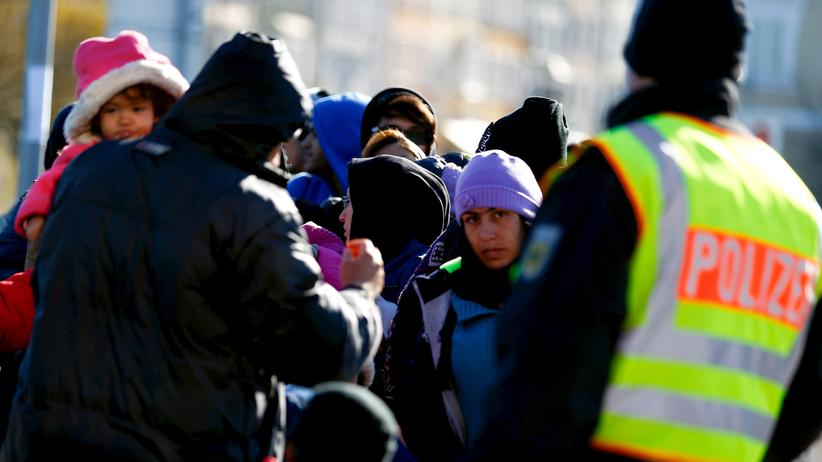 Flüchtlingskrise Polizei Gewerkschaft der Polizei Deutschland Österreich