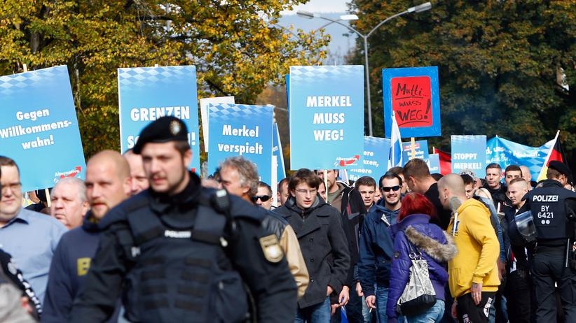 Politik, AfD, Bernd Lucke, Frauke Petry, NPD, Facebook, UKIP