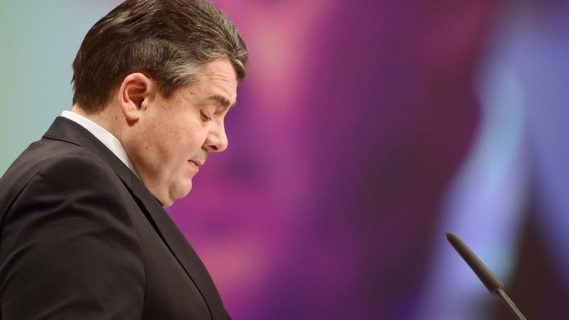 Sigmar Gabriel: Sigmar Gabriel auf dem SPD-Bundesparteitag in Berlin