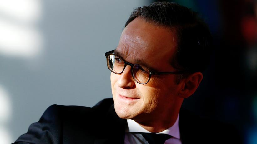 Fremdenfeindlichkeit: Justizminister Heiko Maas vor einer Kabinettssitzung in Berlin