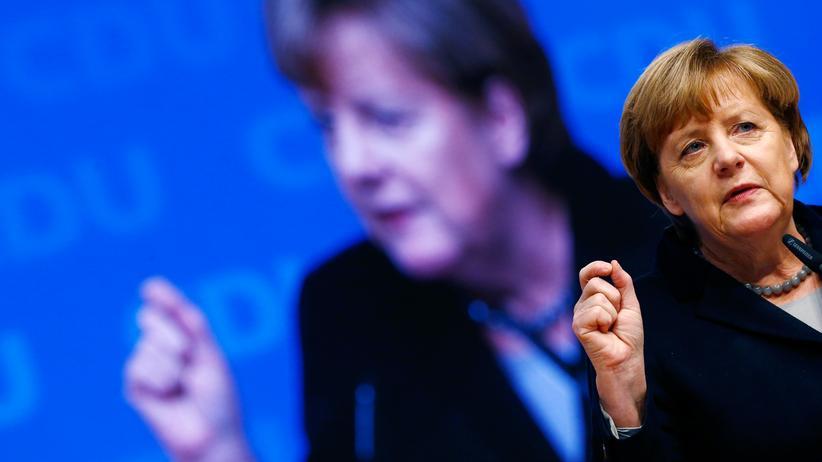 CDU Parteitag Angela Merkel