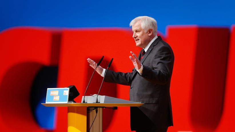 Horst Seehofer CSU Bayern CDU Parteitag
