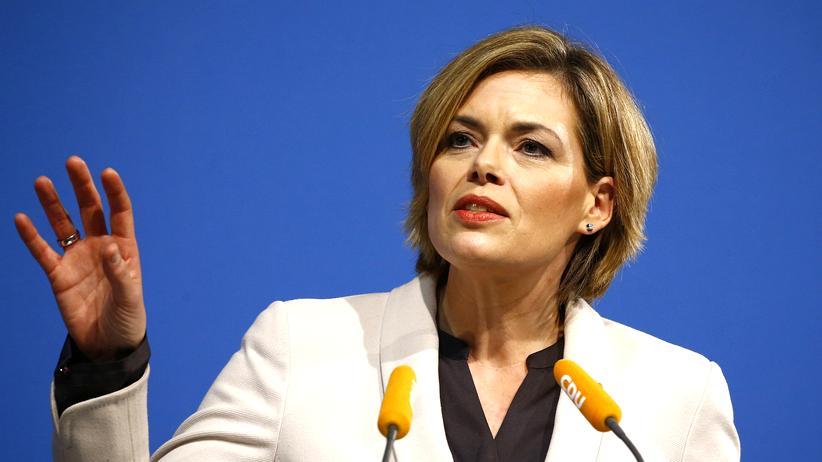 Flüchtlinge: Die rheinland-pfälzische CDU-Vorsitzende Julia Klöckner (Archiv)