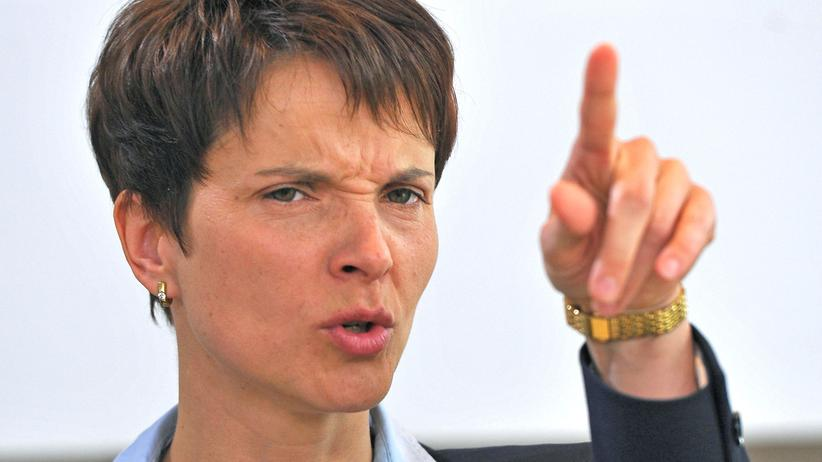 AfD: AfD-Chefin Frauke Petry (Archivbild)