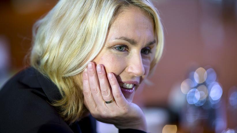 Manuela Schwesig: Ministerin Manuela Schwesig