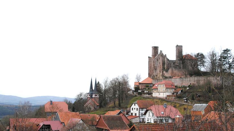 Burg Hanstein oberhalb von Bornhagen