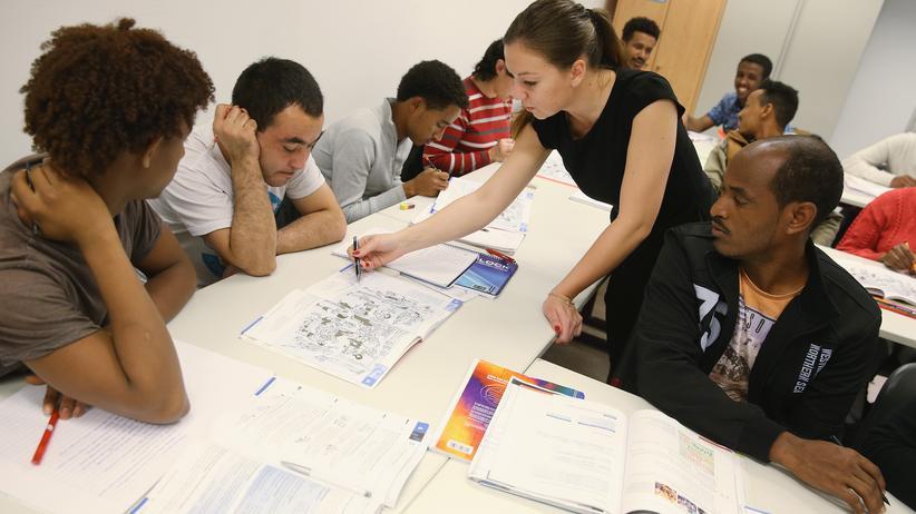 Integration: Deutschunterricht für Flüchtlinge in Potsdam