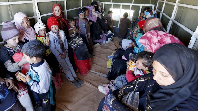 Flüchtlingspolitik: Syrische Flüchtlinge in Jordanien (Archivbild)