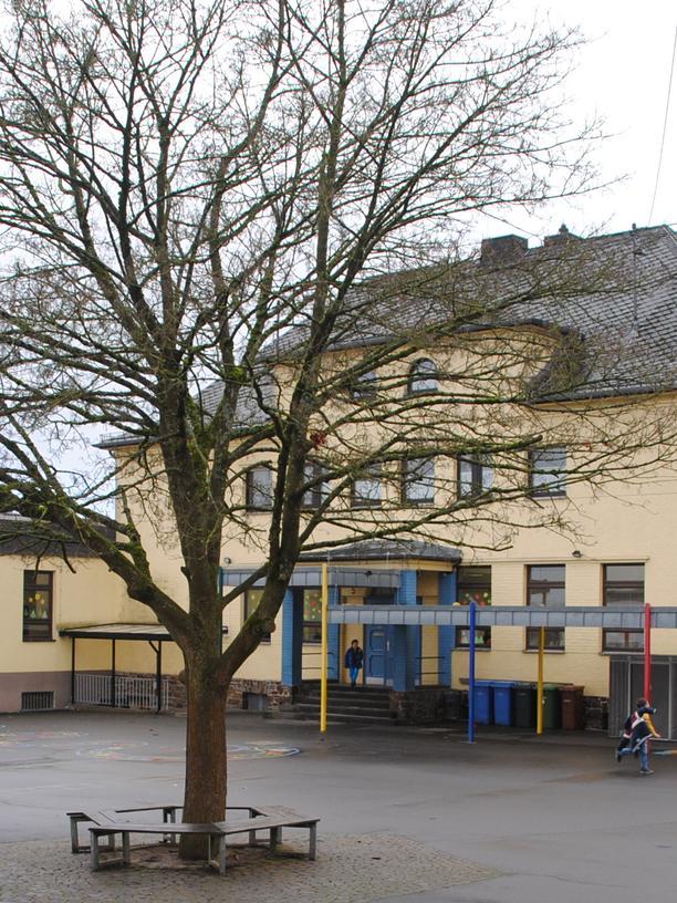 Die Braunsburg-Grundschule in Anhausen
