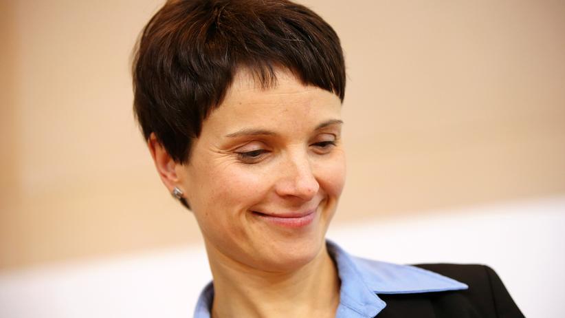 AfD: AfD-Vorsitzende Frauke Petry