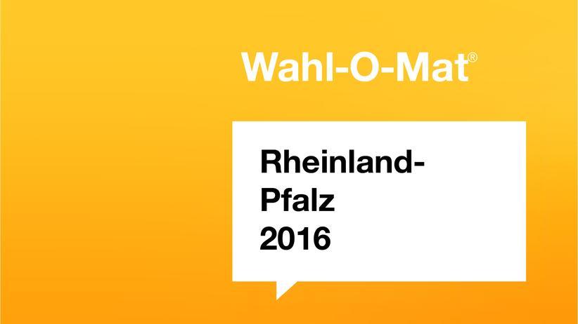 Wahlomat Rheinland-Pfalz 2016