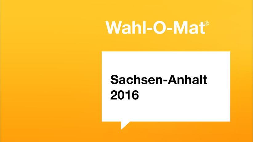 Wahlomat Sachsen-Anhalt 2016