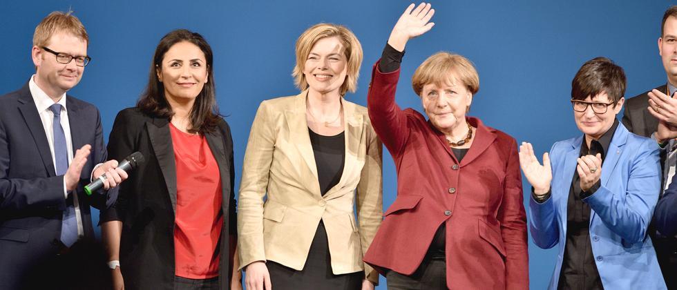 CDU Angela Merkel Landtagswahlkampf