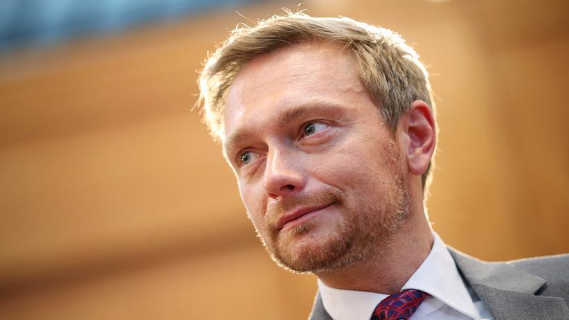 Christian Lindner: Christian Lindner, seit 2013 Bundesvorsitzender der FDP