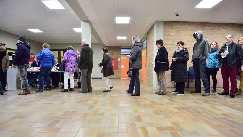 Baden-Württemberg: Wähler in Bad Kreuznach