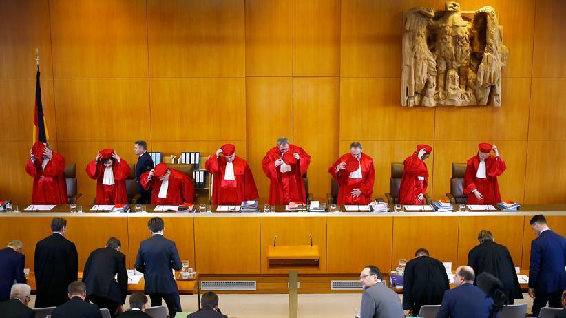 NPD-Verbotsverfahren: Der Zweite Senat des Bundesverfassungsgerichts