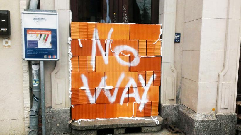 Landtagswahl: Die zugemauerte Tür in Halle