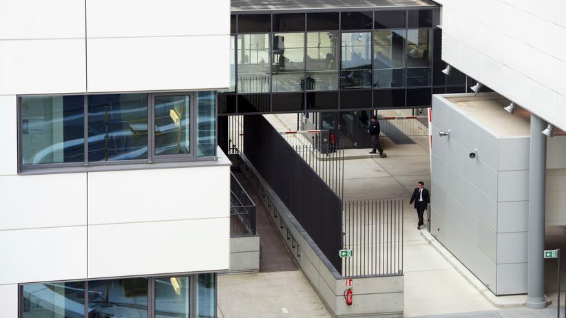 Bundesnachrichtendienst: Die neue BND-Zentrale in Berlin (Archivbild)