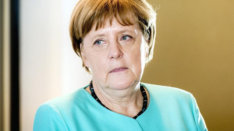 Erdoğan-Satire: Angela Merkel in den Niederlanden (Archivbild)