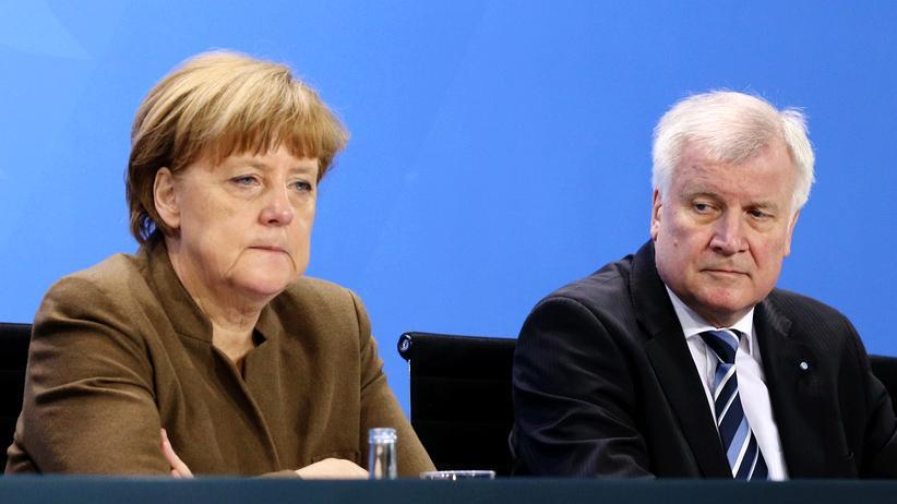 Merkel Seehofer Deutschlandtrend