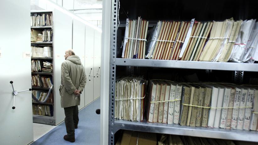 BStU: Akten in der Stasi-Unterlagenbehörde