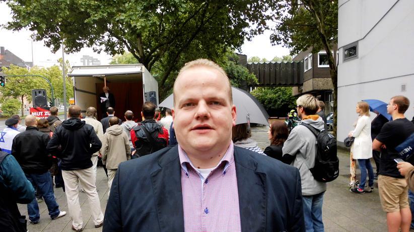 Jugendverband der AfD: Sven Tritschler, der als Teil der Doppelspitze, die Junge Alternative anführt.