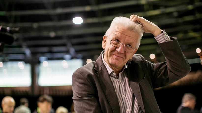 Die Grünen Winfried Kretschmann Doppelspitze