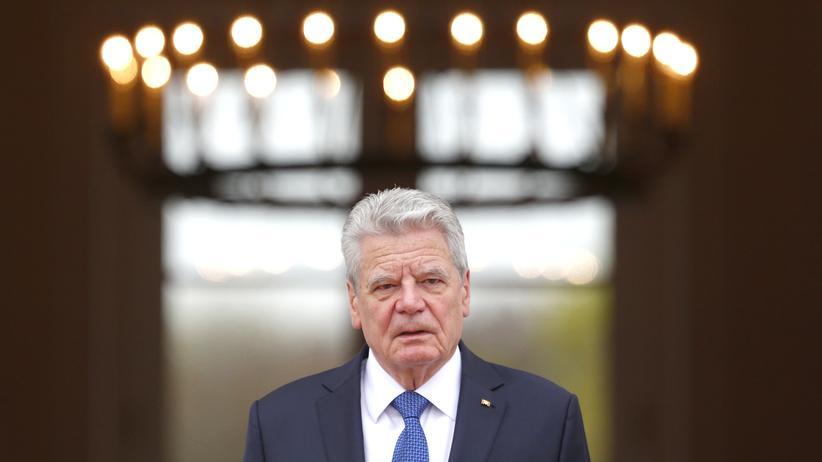 """Joachim Gauck: """"Mehr Demokratie ertragen"""""""