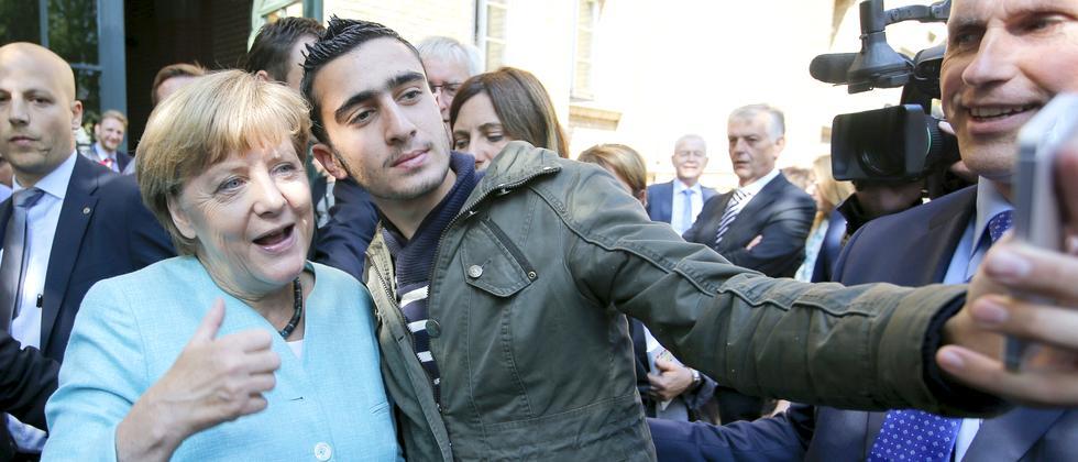 Merkel Flüchtlinge Politik Kompensation
