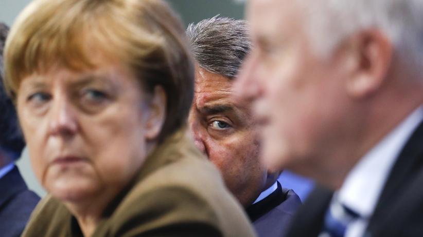 Merkel, Seehofer, Gabriel