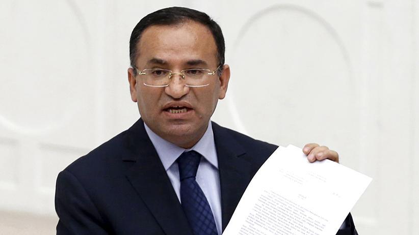 Armenien-Resolution: Der türkische Justizminister Bekir Bozdağ